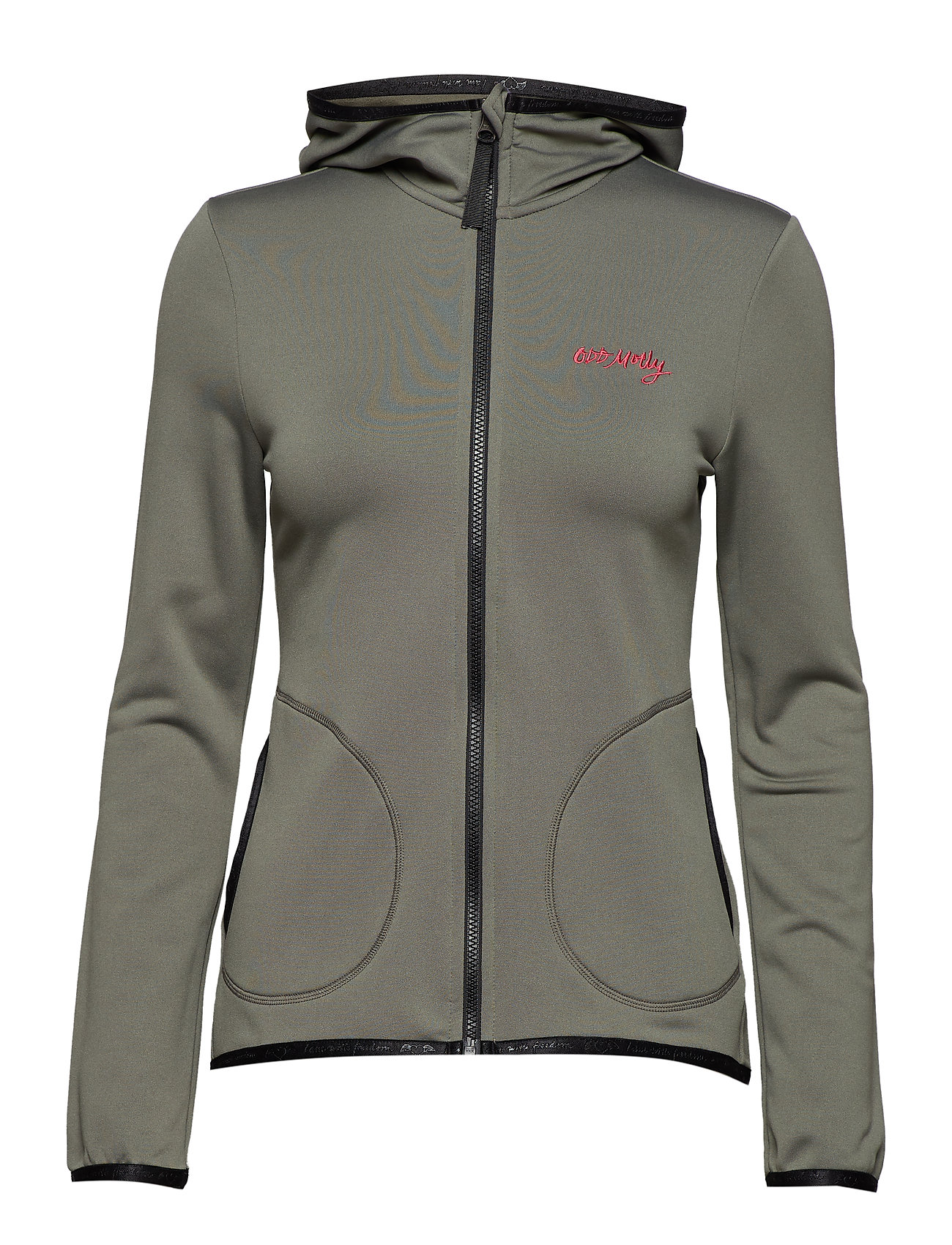 ODD MOLLY ACTIVE WEAR storm mid layer solid jacket