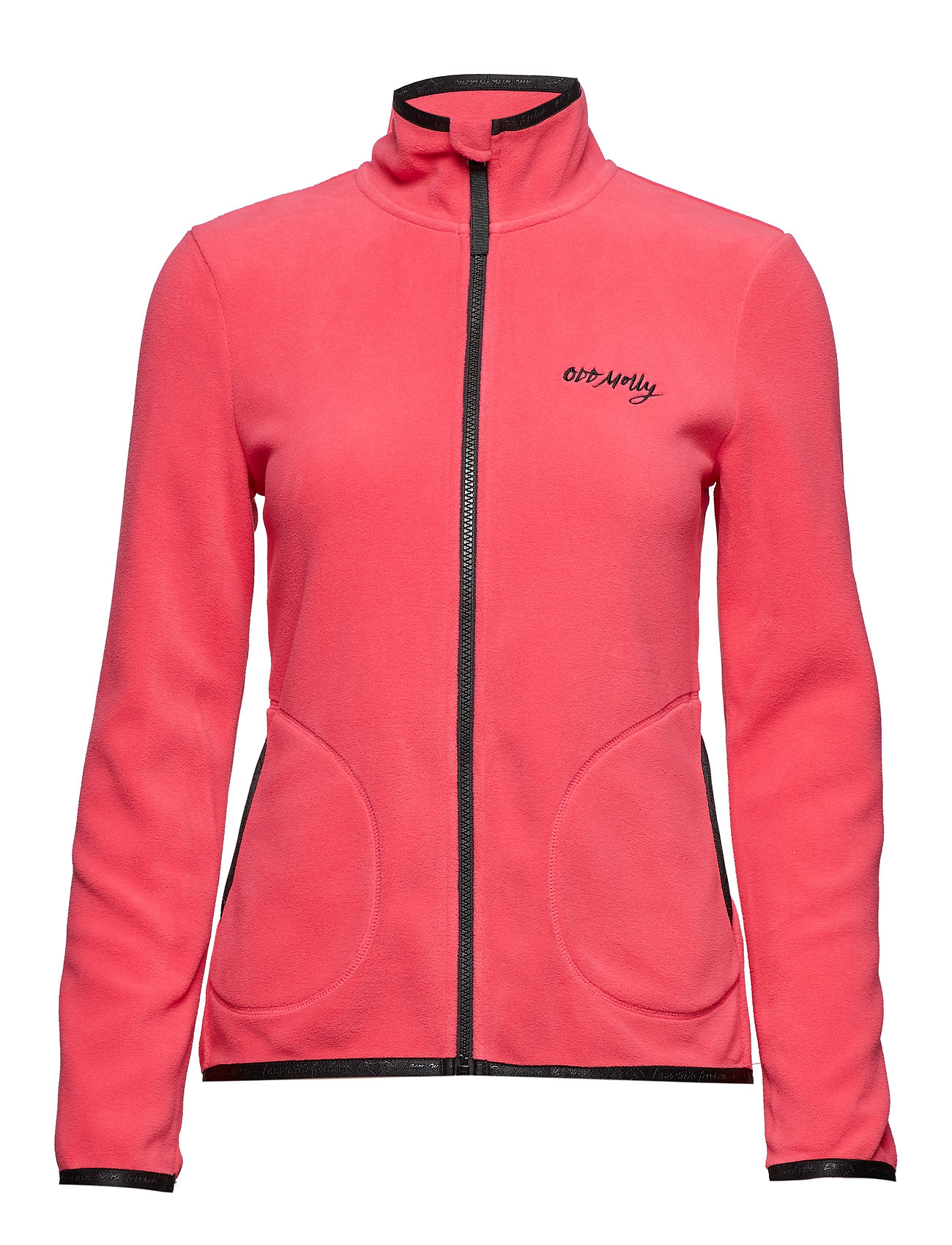 ODD MOLLY ACTIVE WEAR tougher mid layer jacket - RASPBERRY