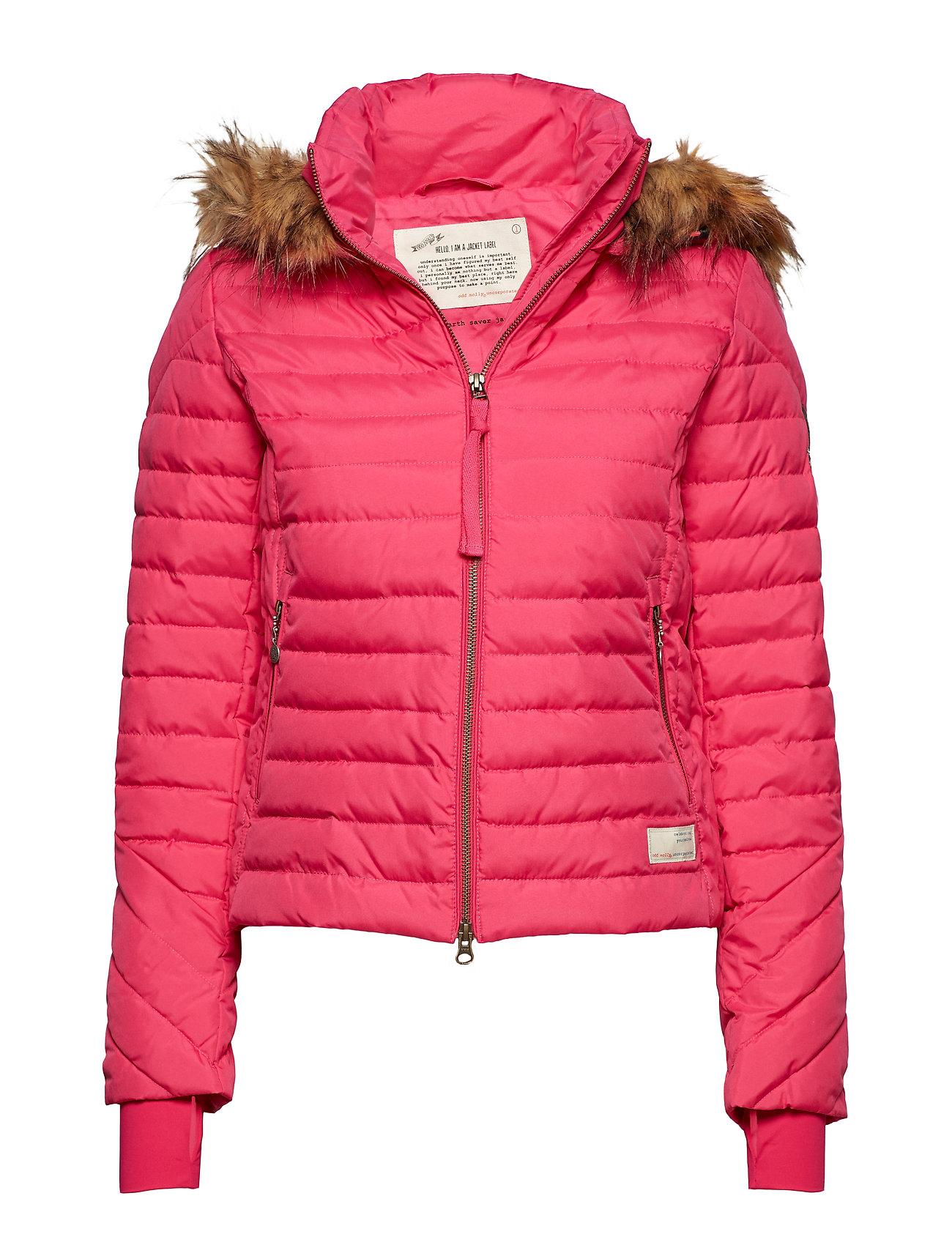 ODD MOLLY ACTIVE WEAR earth saver jacket - HOT PINK
