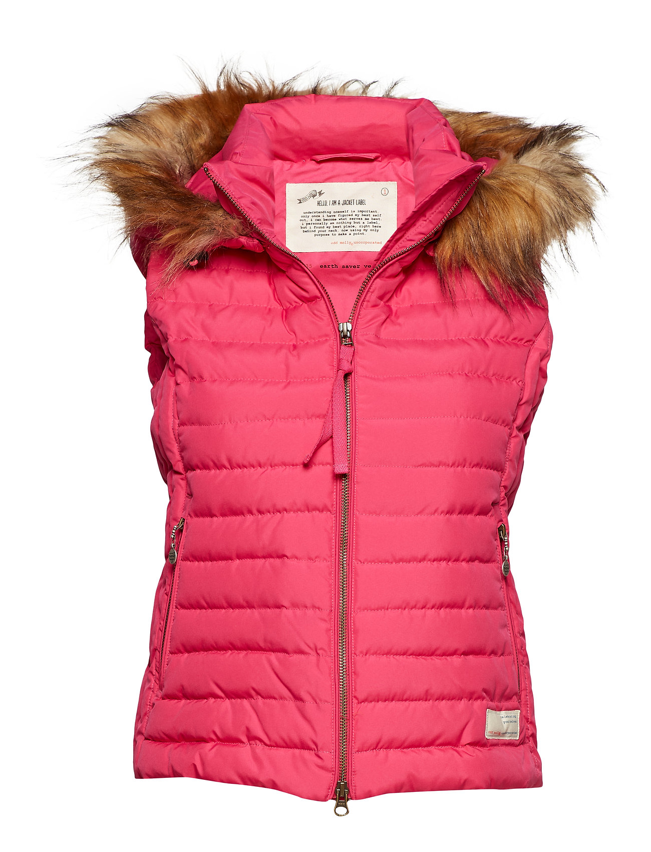 ODD MOLLY ACTIVE WEAR earth saver vest - HOT PINK