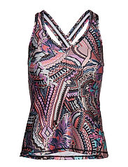 sprinter tank top - MULTI ORCHID