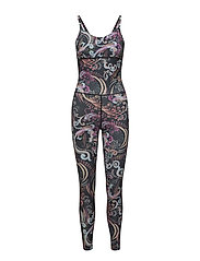 sweat it jumpsuit - ALMOST BLACK