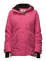 love-alanche jacket - HOT PINK