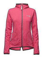 storm mid layer jacket - HOT PINK