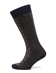deep snow sock - GREY