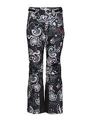 love-alanche pants - MULTI BLACK