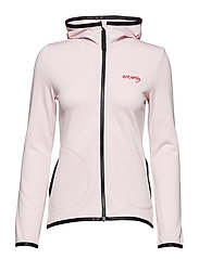 storm mid layer solid jacket - SORBET PINK
