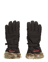 fire place glove - ALMOST BLACK