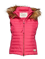earth saver vest - HOT PINK