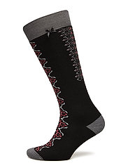 deep snow sock - BLACK MULTI