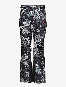 love-alanche pants - MULTI BLACK