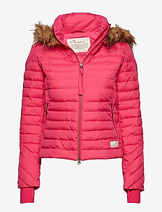 earth saver jacket - HOT PINK