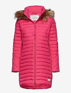 earth saver long jacket - HOT PINK