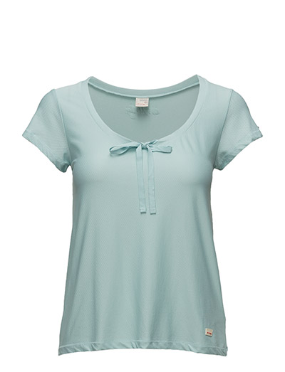 sweat it solid top - VINTAGE TURQUOISE SOLID