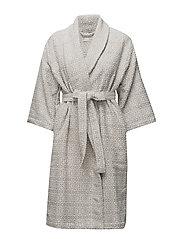 cozy bathrobe - GREY
