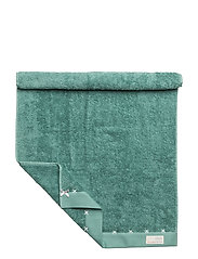 sunday morning guest towel - SHADOW GREEN