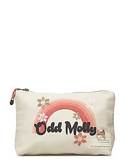 zodiac moon makeup bag - LIGHT PORCELAIN