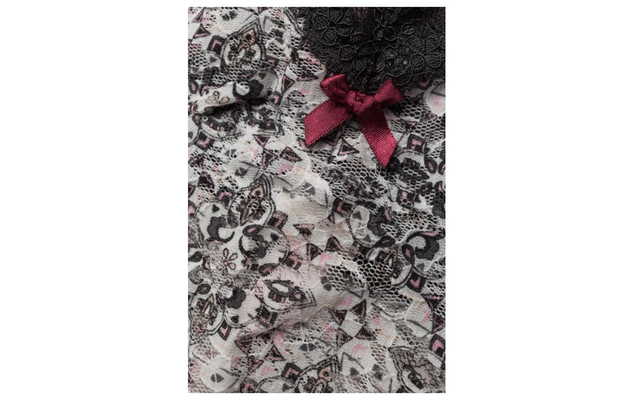 Lace Printed Oddity Tank Light Molly amp; Underwear Odd 100 Top Chalk Polyamide Swimwear XnRIw