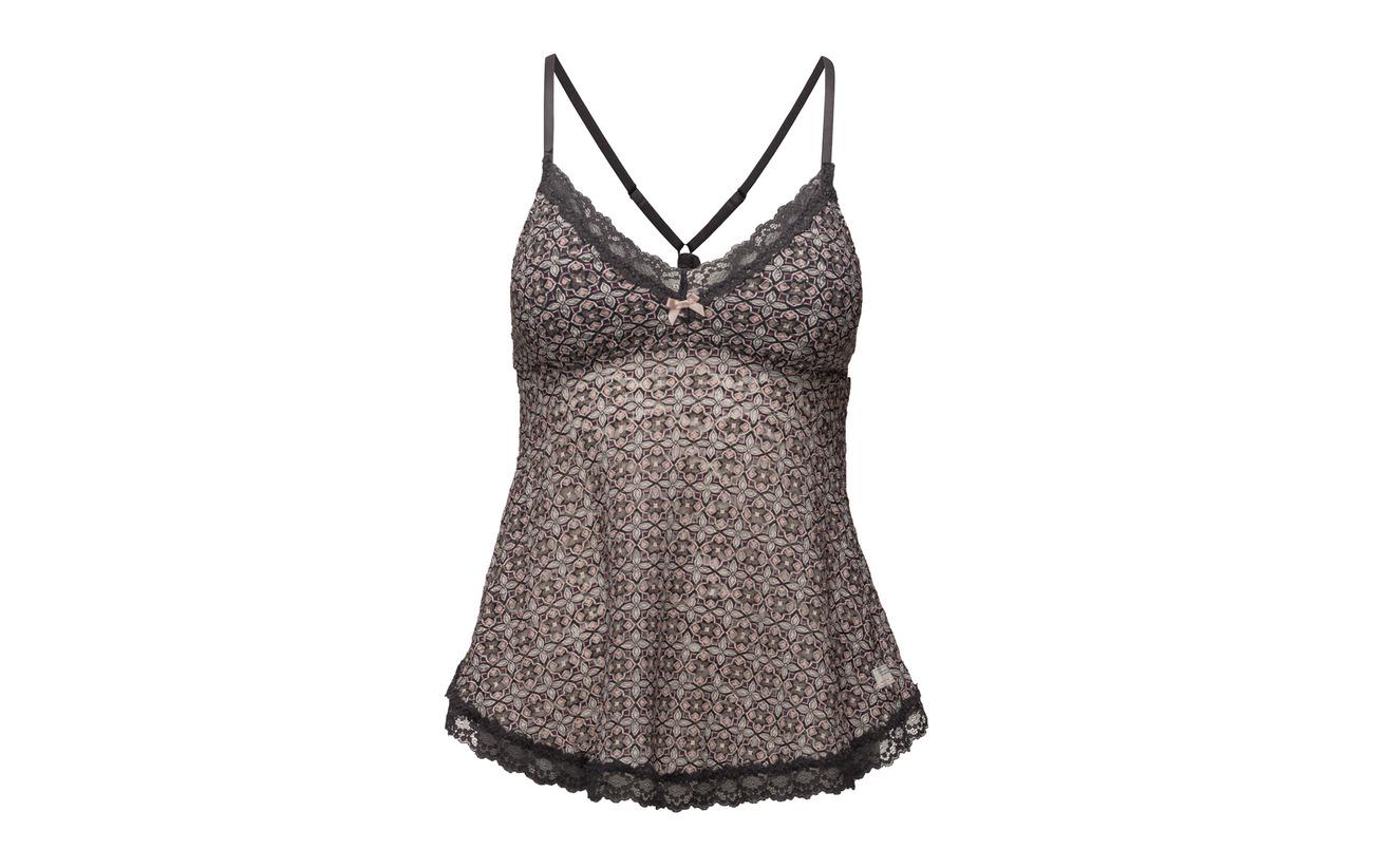 Printed 100 Tank Polyamide Top Odd amp; Lace Underwear Molly Swimwear Oddity Multi wBH1AI