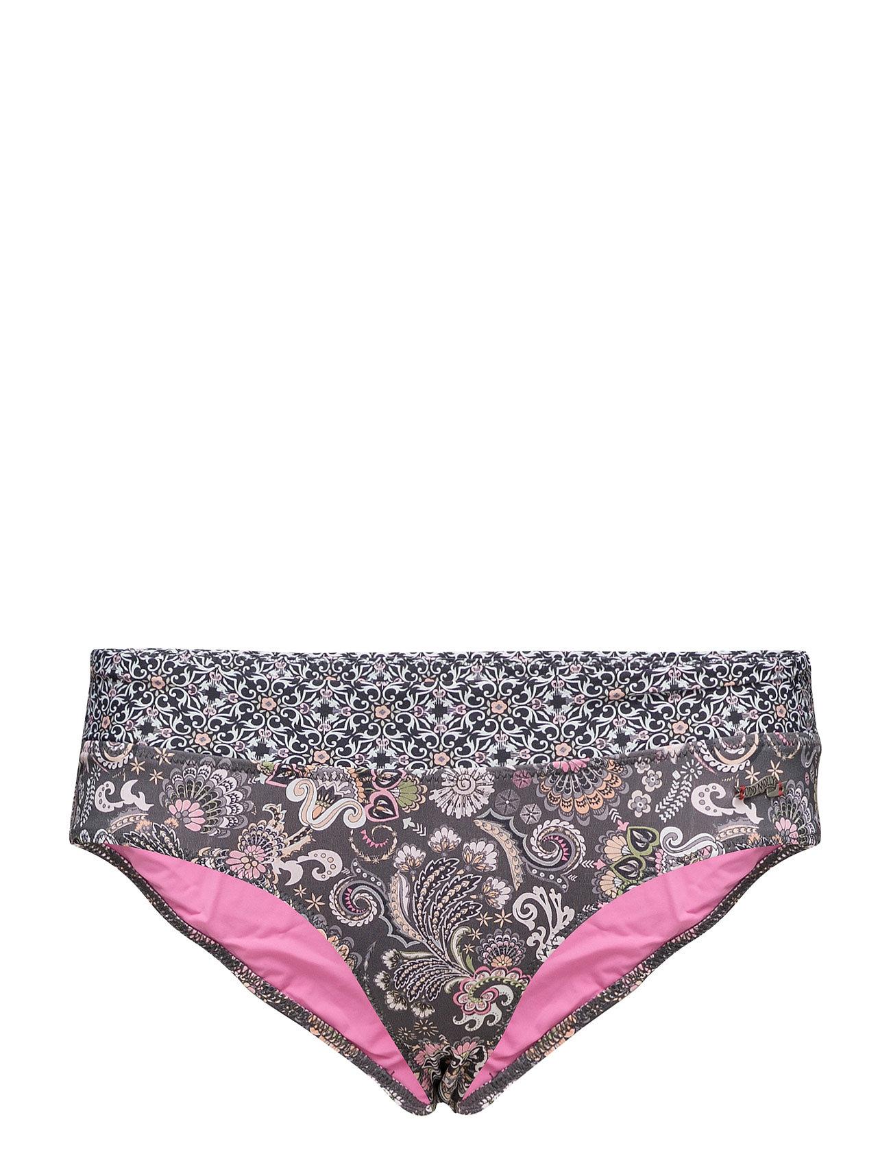 ODD MOLLY UNDERWEAR & SWIMWEAR safety position bikini bottom - ALMOST BLACK