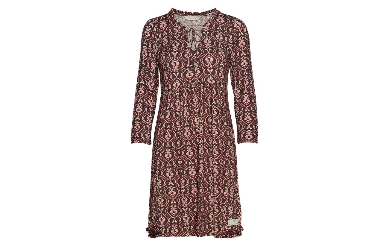 Inner 5 Odd Chocolate Echo Viscose Elastane Dress 95 Molly 5UHwTprHqv