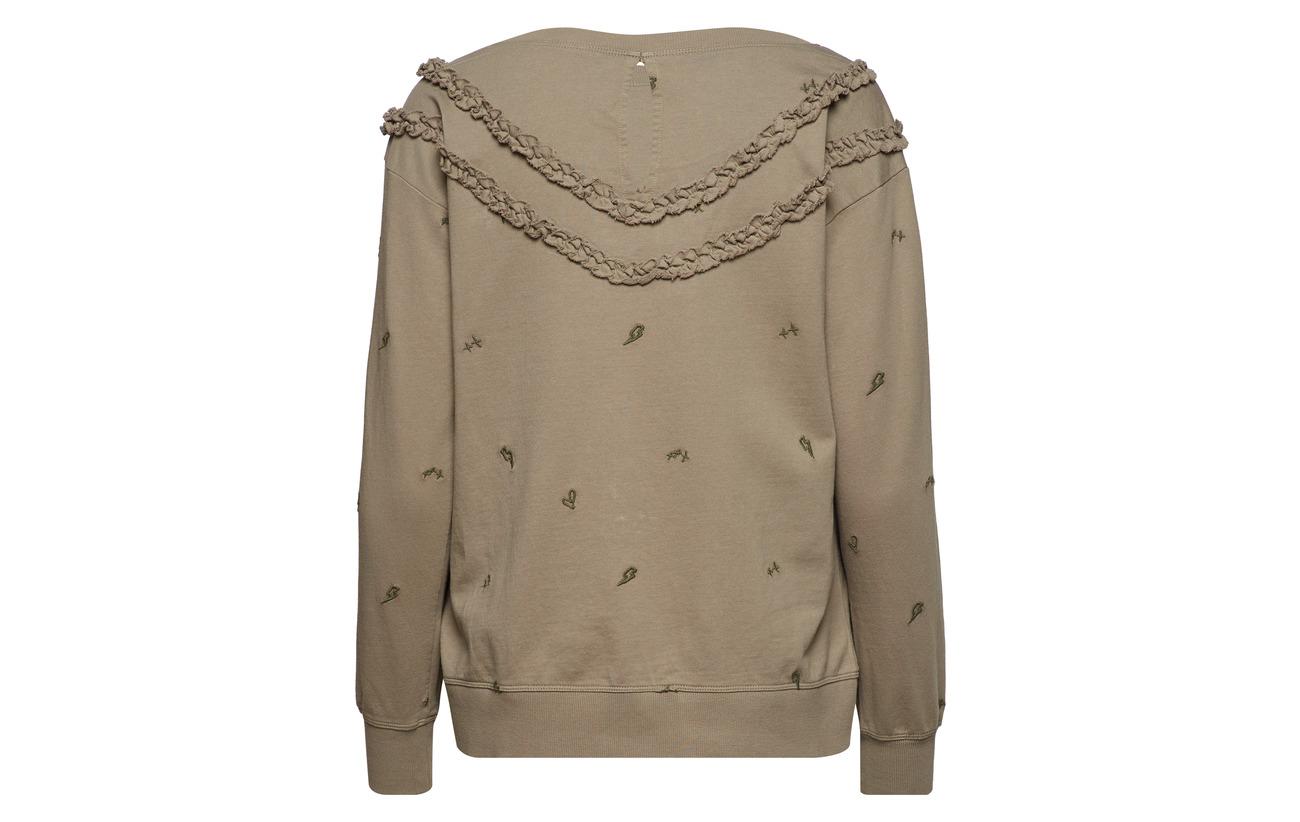 Phase Grey 100 Coton Melange Odd It Sweater Light Molly zwxZXcqa5p