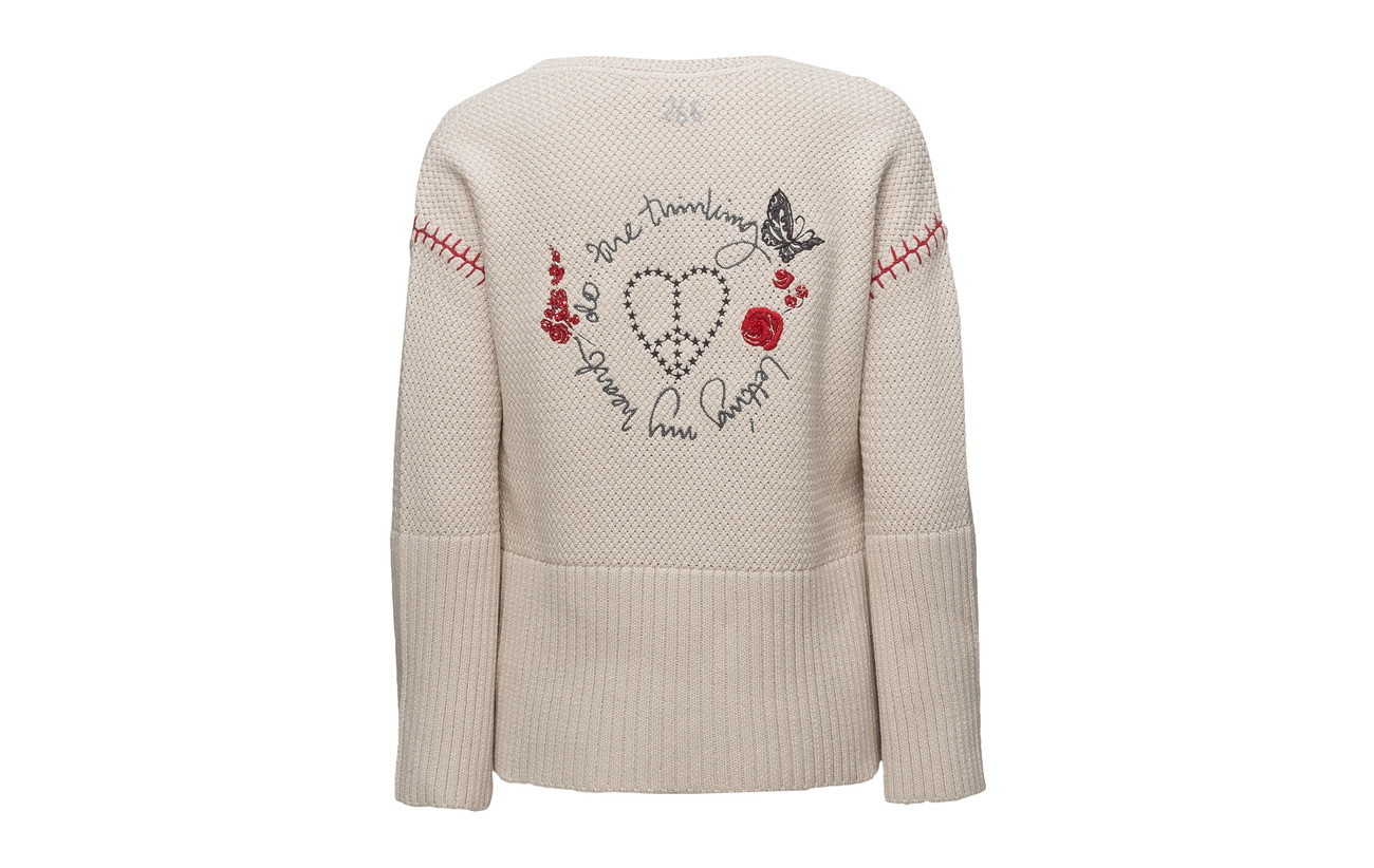 Rose Stunning Coton Soft Sweater Odd Molly 100 qOPSF