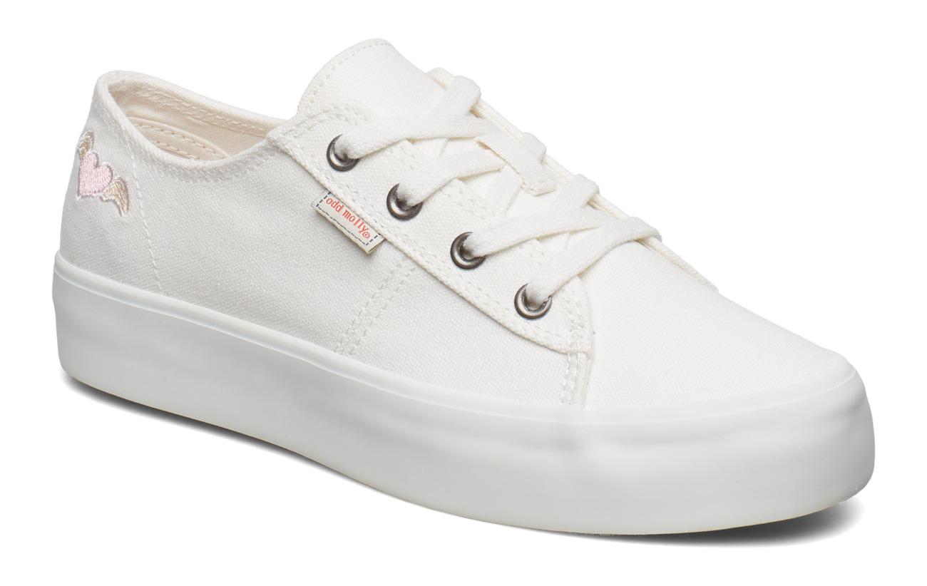ODD MOLLY pedestrian sneaker - BRIGHT WHITE