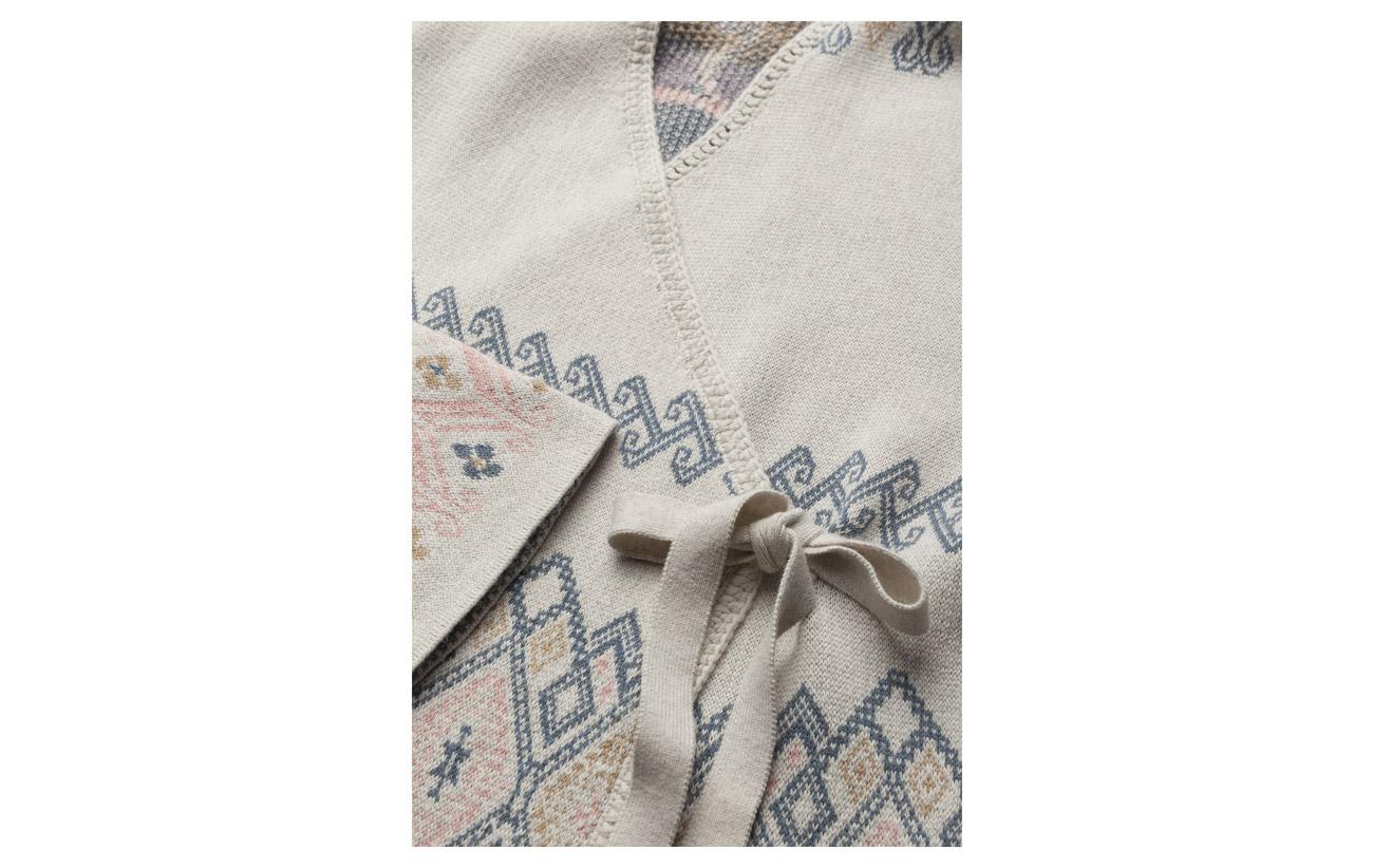 Cardigan Wrap 100 Odd Molly Tropical Chalk Coton Heat qtgIwz