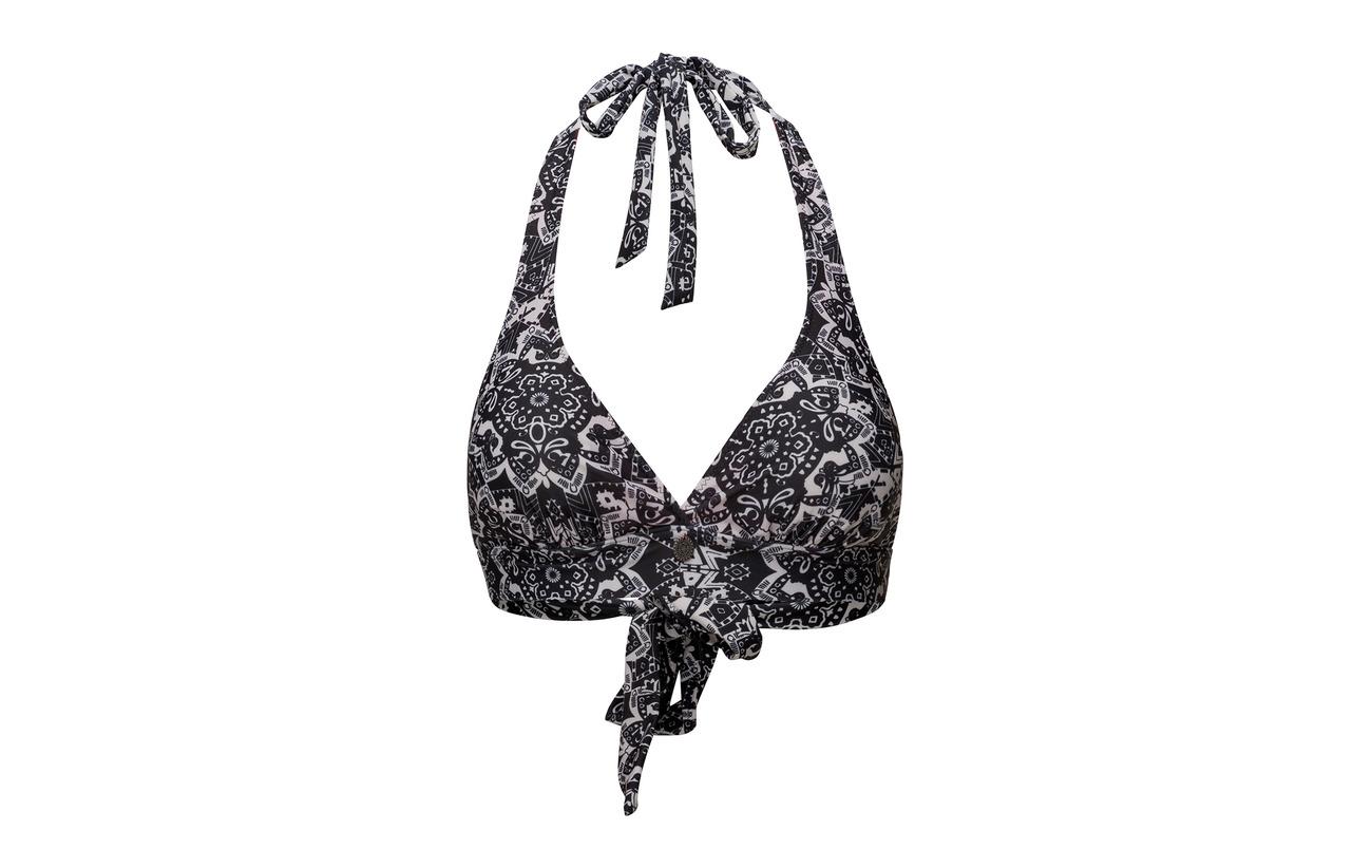 Elastane 23 Top Bikini Odd 77 Black Position Polyester Almost Molly Safety zawqw1xvg