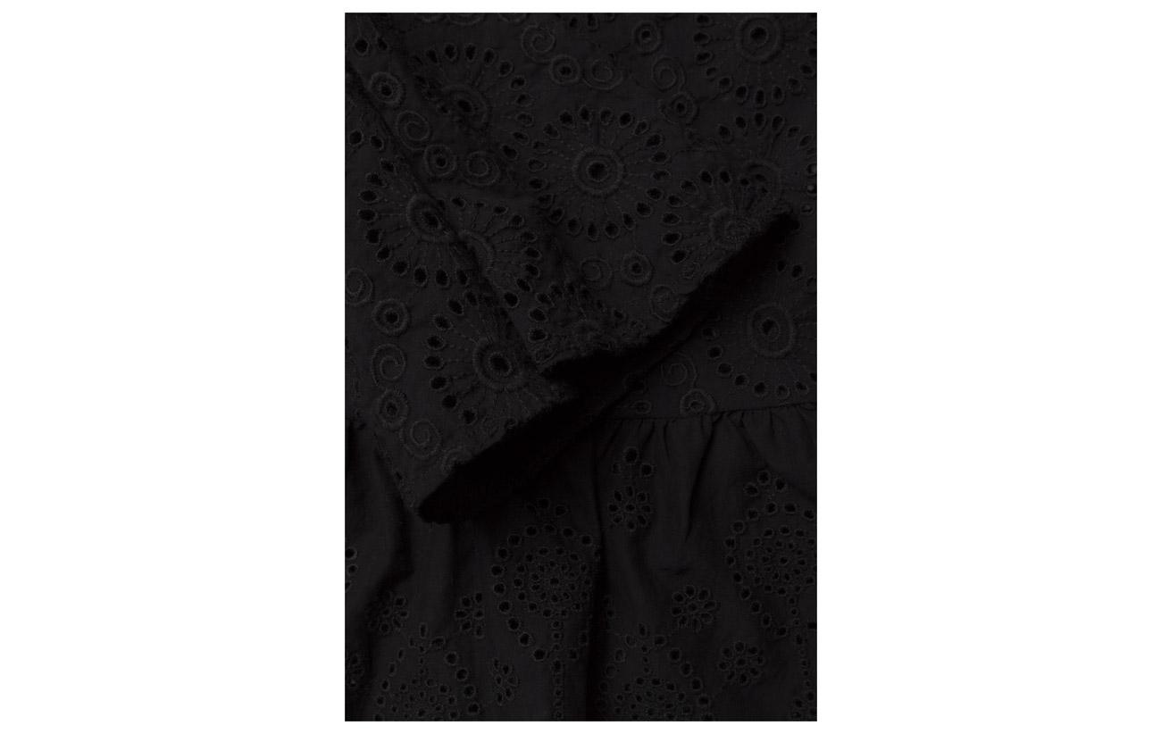 Molly s Black 100 L Odd Kick Coton Almost Side Blouse pdw1I4qU