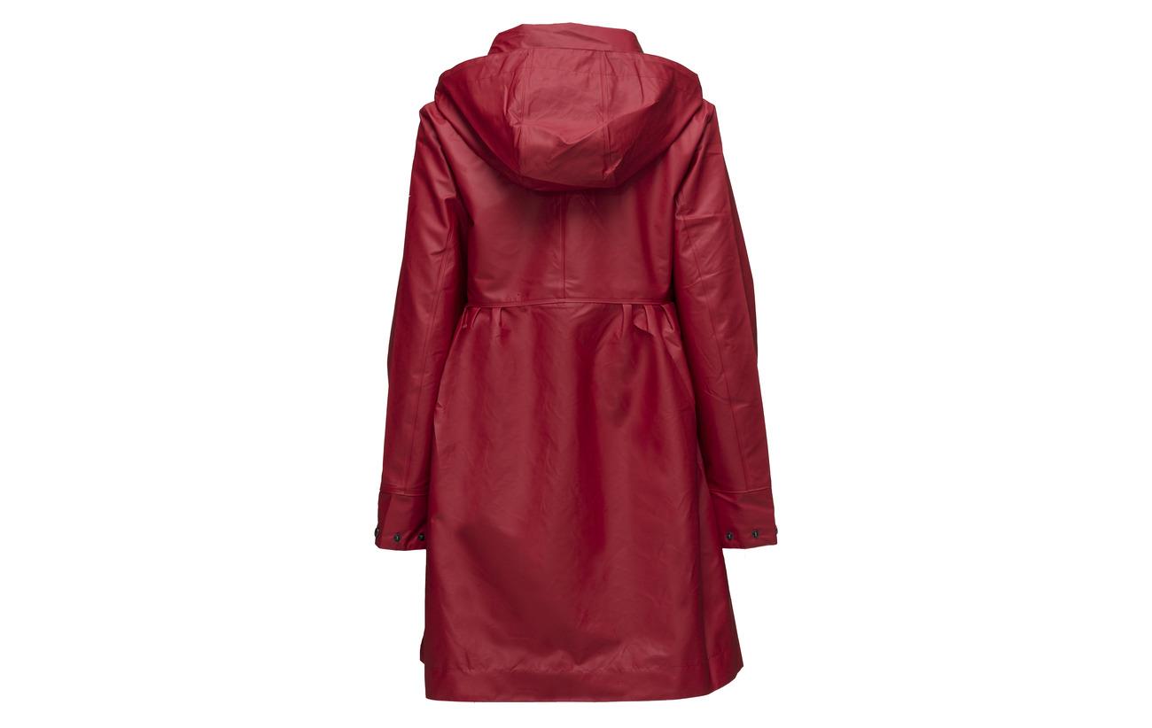 Polyesterlining Deep Red Odd 100 Outstanding Rainjacket Molly Polyurethane xt7tIHq0w