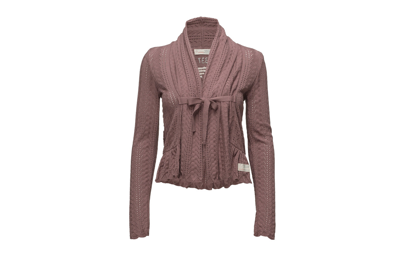 Can Coton Taupe Rose Molly can Odd Cardigan 100 q0w5v6xa