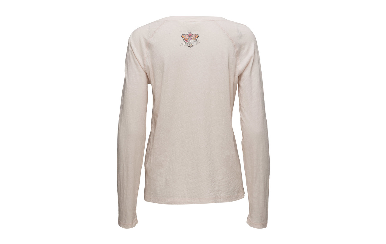Molly Odd Top Coton L s Being Well Blush 100 qwdHa4And