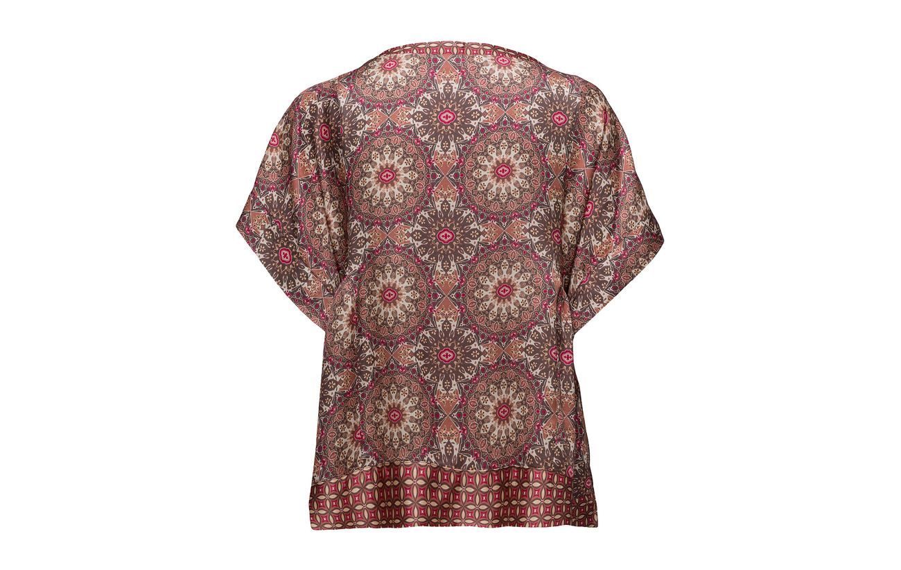 s S Odd Honey Molly Blouse 100 Mahogny Light Viscose coated qrtrIwBxa