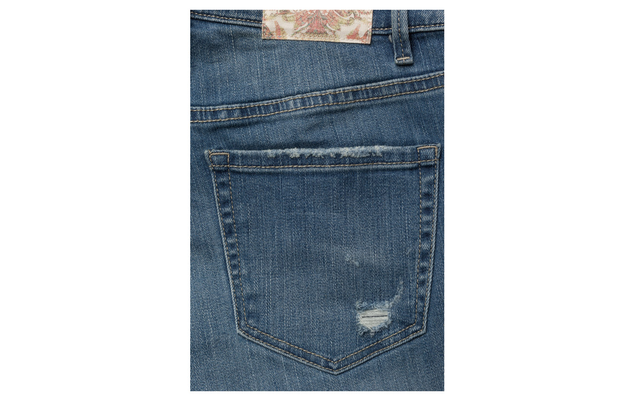 Flared Odd It Polyester Jeans 6 2 Coton Mid 92 Elastane Molly Kick Blue qxaxHTCg