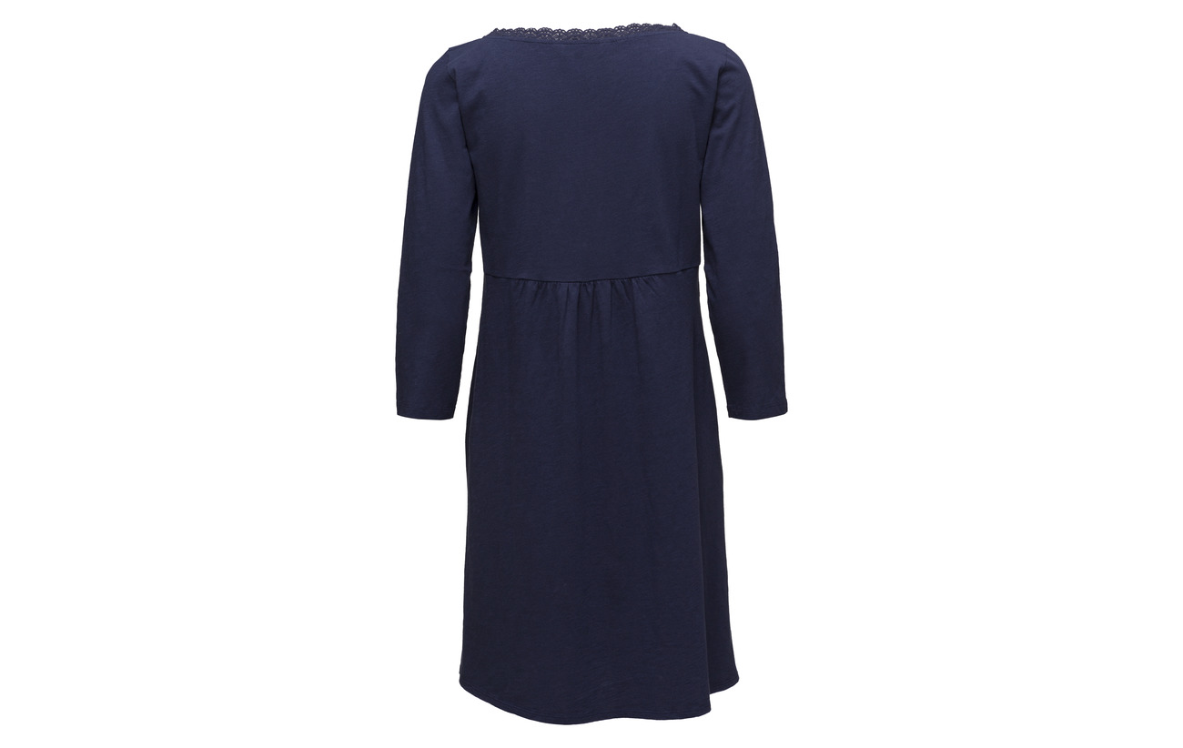 Coton Deep Odd Dress Molly Lacey 100 Garden Cobolt wwfR0x4