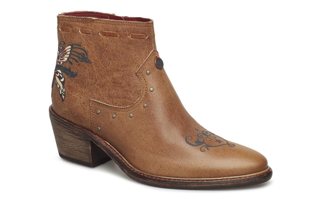 ODD MOLLY drop dead dazzling low boot - BROWN