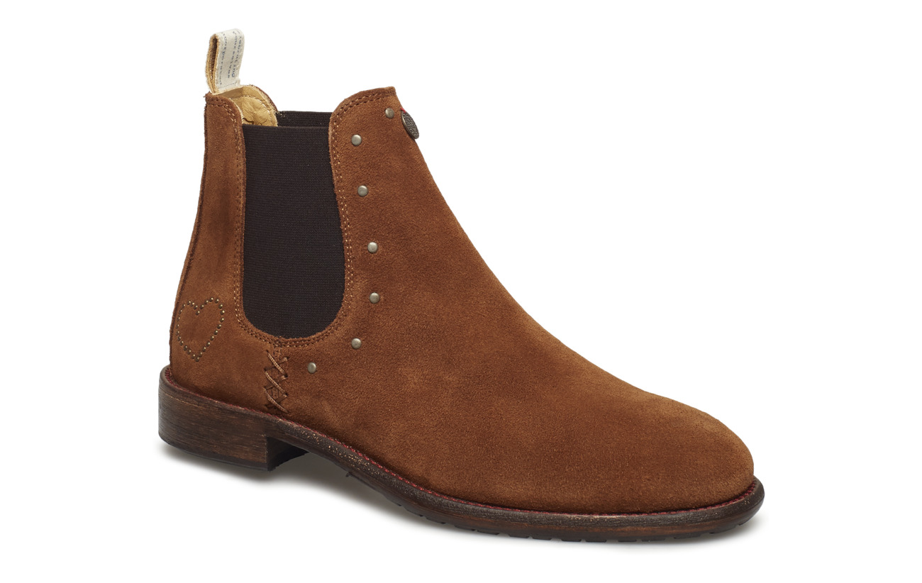 ODD MOLLY mollyhood low suede boot - BROWN