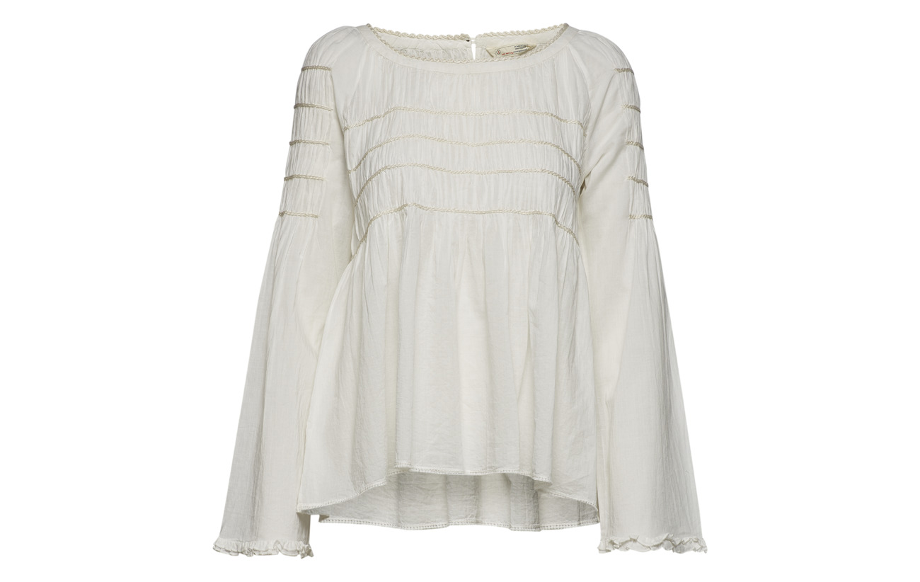 Molly Shell Vibes Blouse Only Good Coton Odd 100 gXHwdqq