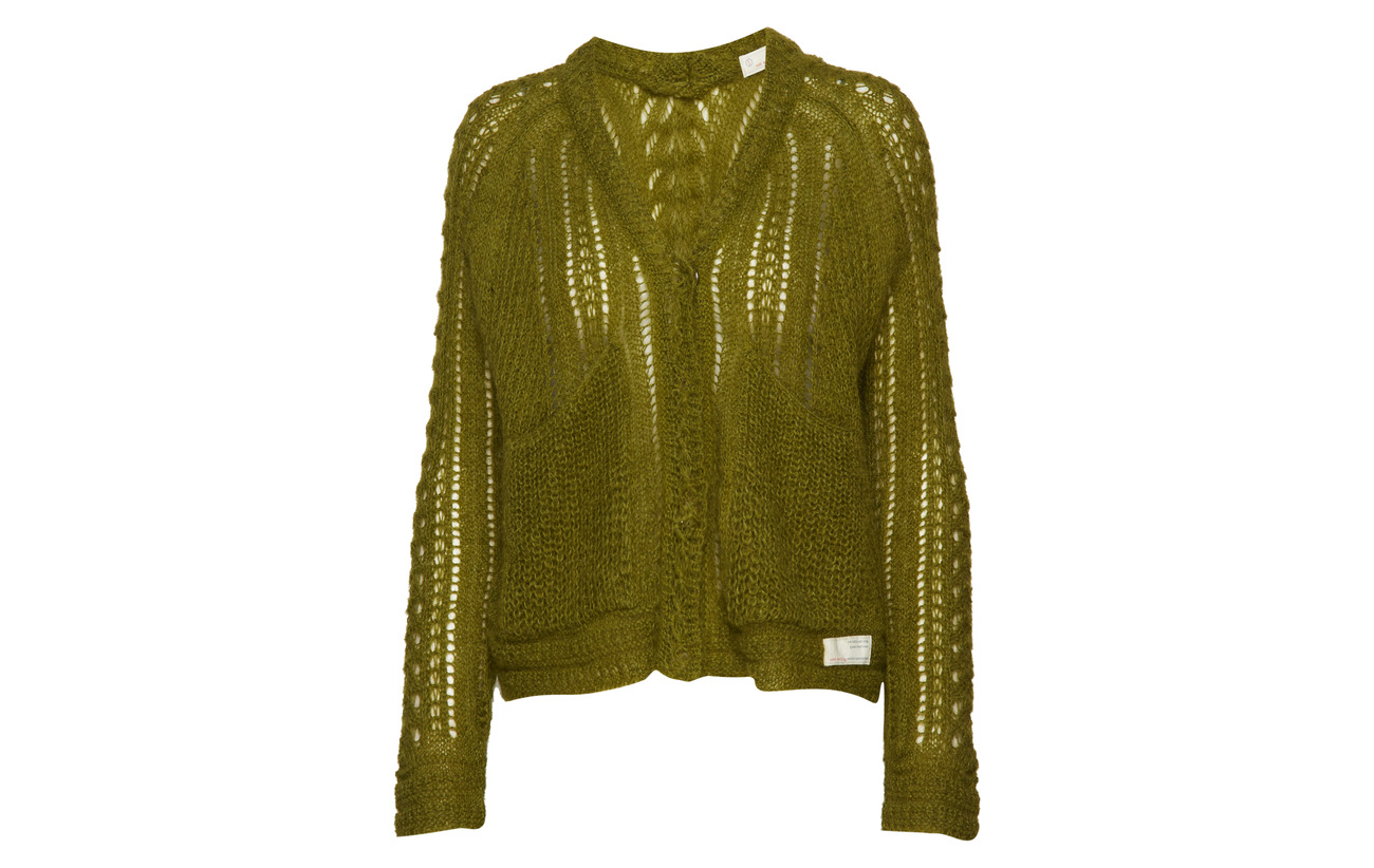 Sweater Feel 50 Odd Mohair Hunter Molly Polyamide It Green 7UaaFq