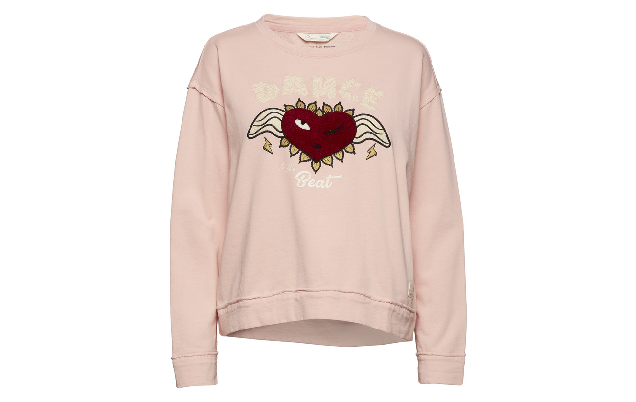 Sheer Odd And 100 Pink Sweater Coton Fair Molly Fun Bio Cwwn7qHp