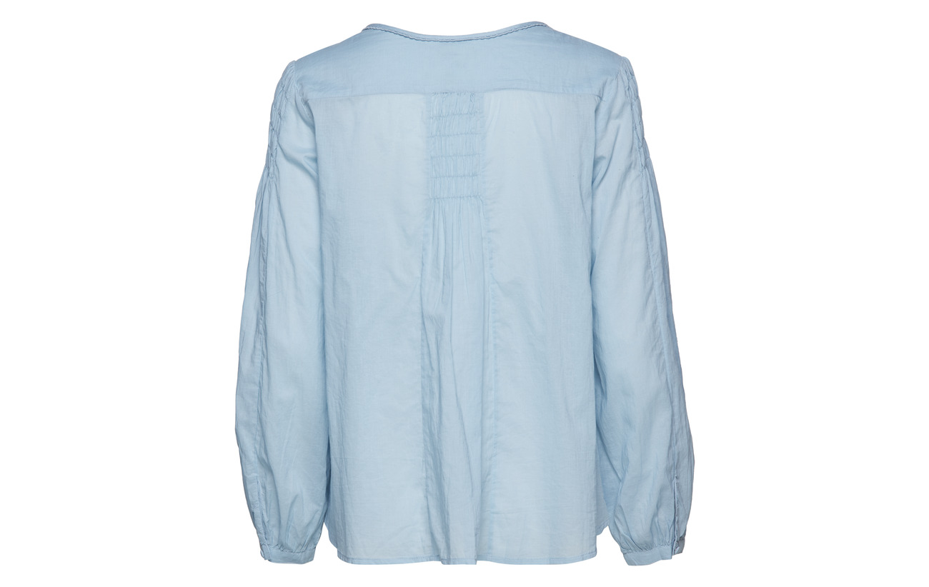 Molly Blouse Magic Odd Air Space Blue Coton 100 8HRvqdg