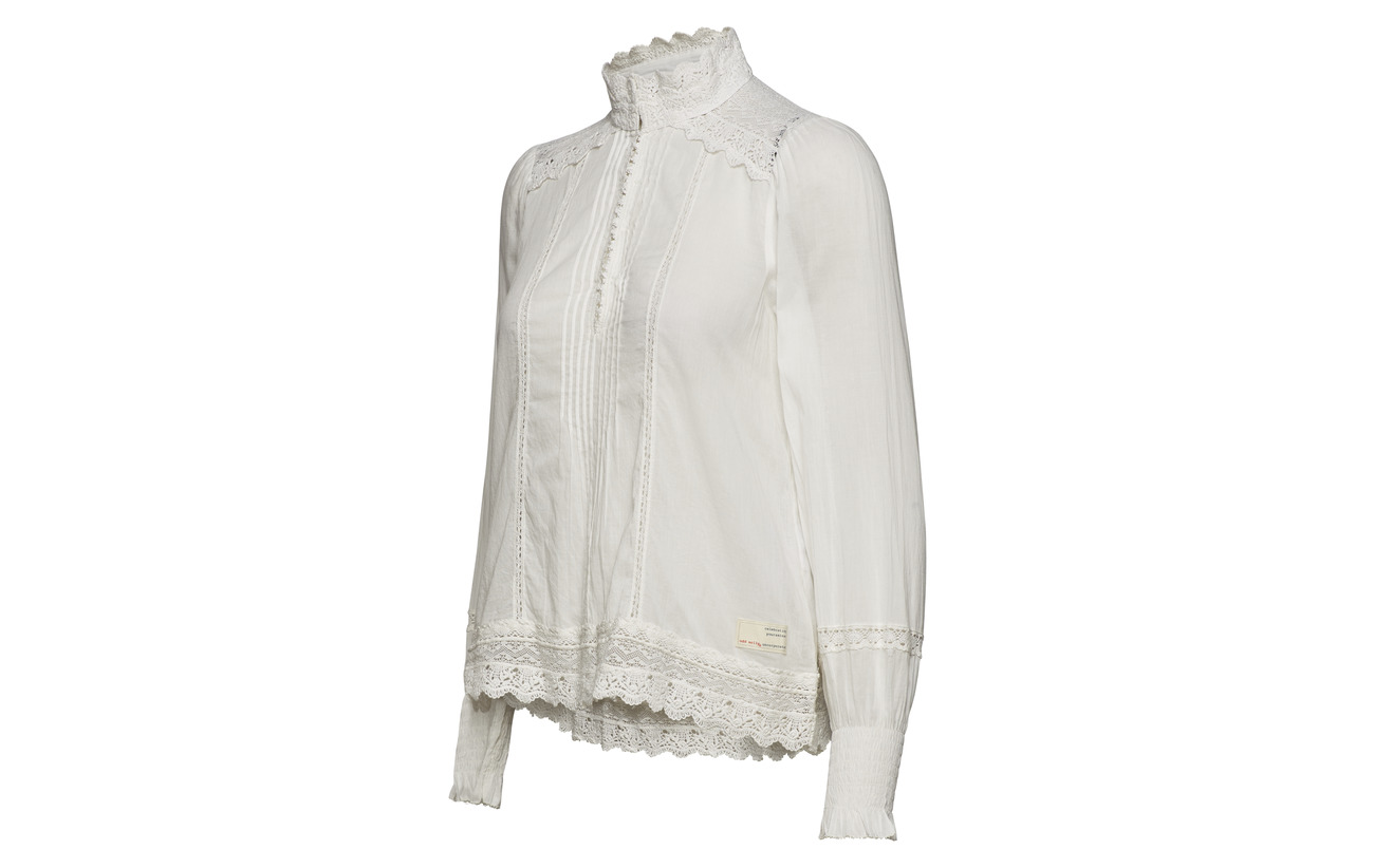 Molly Blouse A Kind One 100 Coton Chalk Light Of Odd RvnCqwd7q