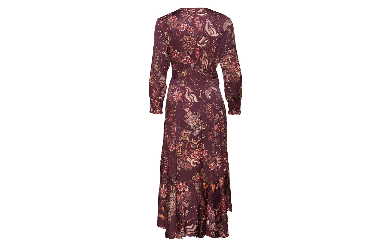 100 Wrap Molly Odd Viscose Dress Spirit Asphalt wT6OqRA