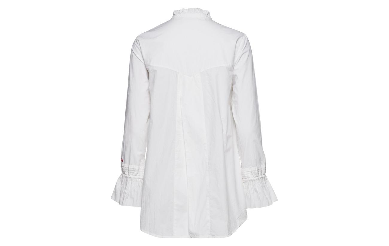 Belong Molly Coton 100 Shirt Odd White To Bright 5dwAqHA