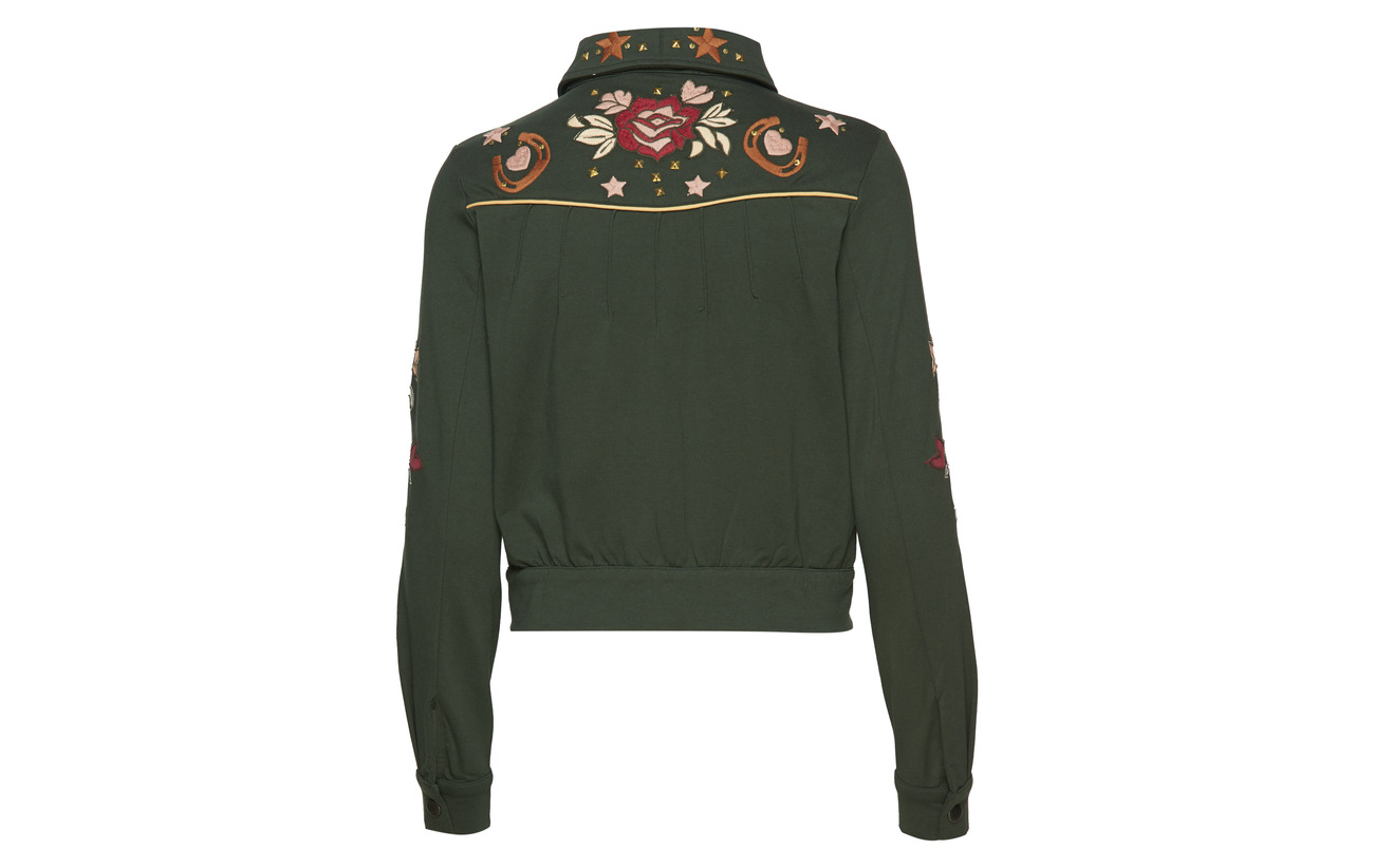 Jacket Green 5 Molly Odd Coton Elastane Energy 95 Cargo pAE4Iw