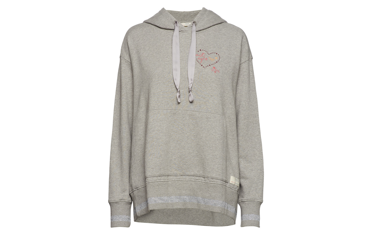 Coton Dream Molly Melange Hoodie Odd 100 Squad Grey v80n8Ox