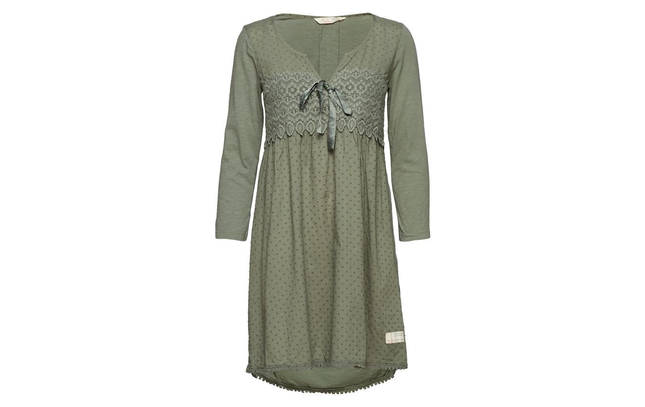 Cargo Coton Odd Hug Green Lace 100 Dress Molly BwqwgpaI