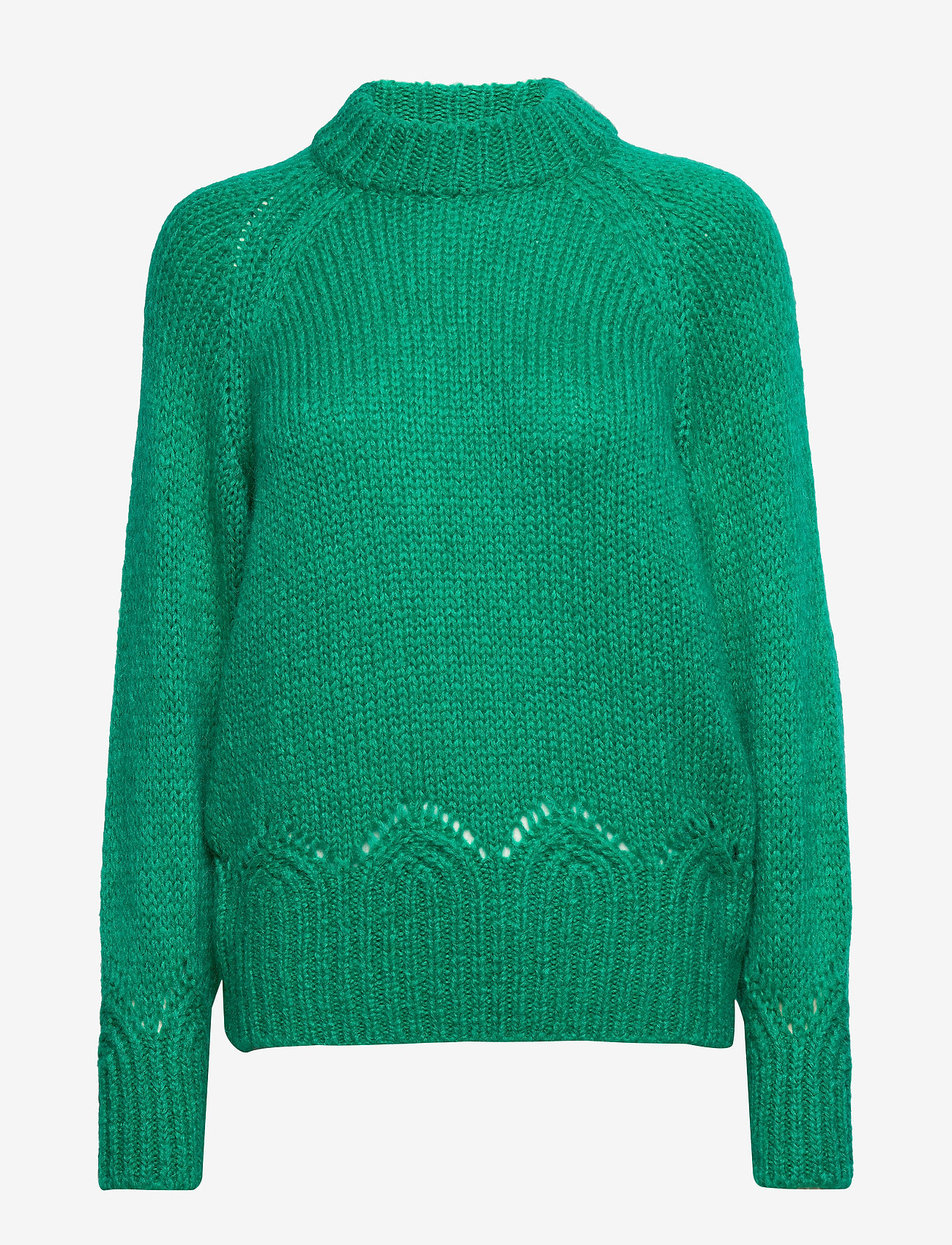 ODD MOLLY - Novelty Sweater - turtlenecks - bright emerald - 1